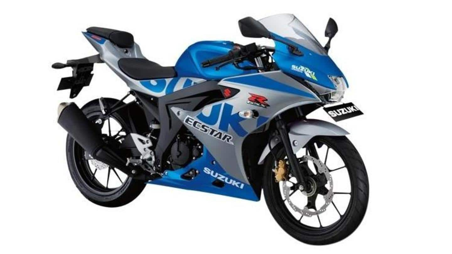Suzuki launches 2020 GSX-R150 MotoGP edition motorbike in Indonesia