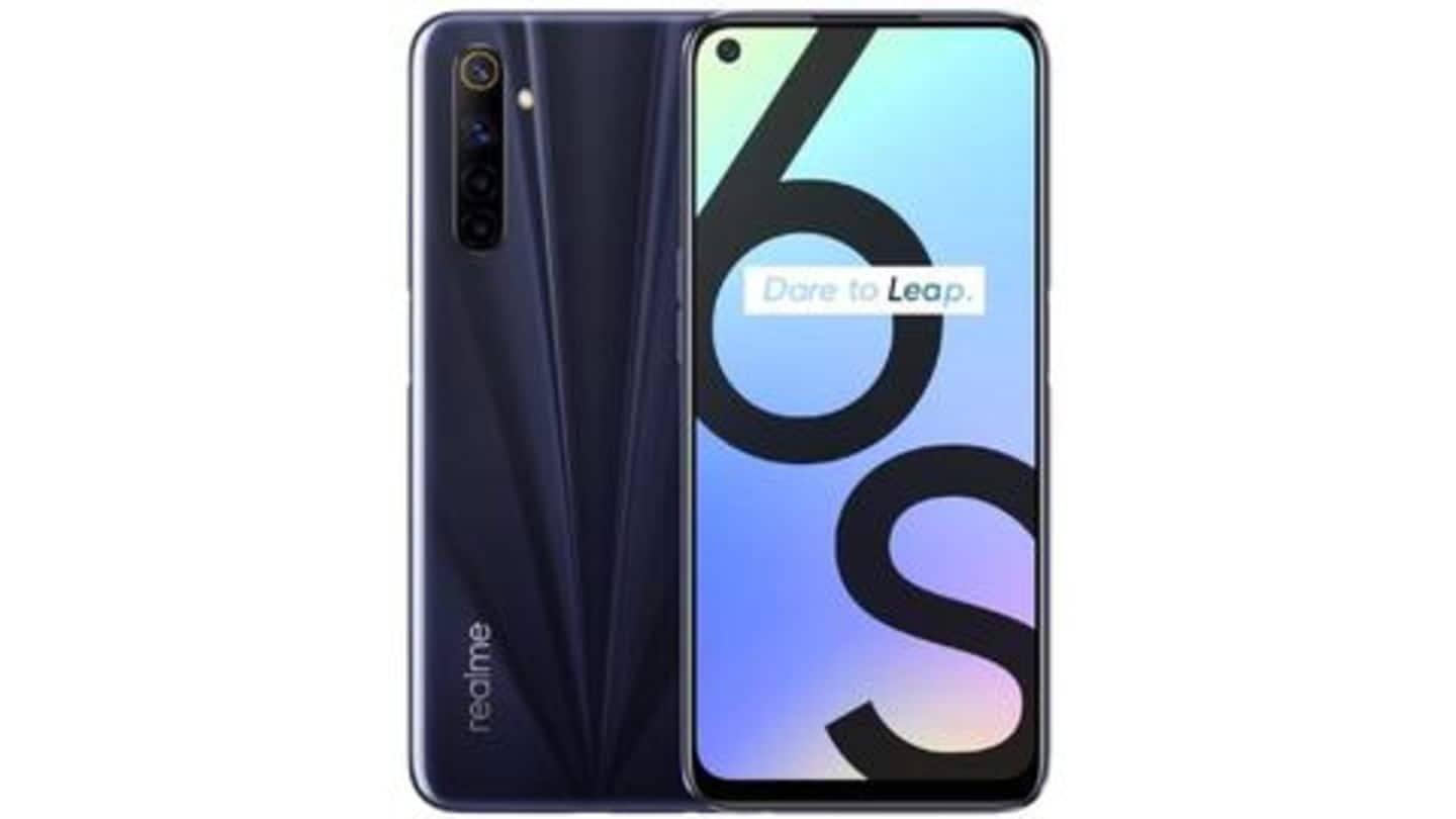 Realme 6s, with 90Hz display and 48MP quad camera, launched