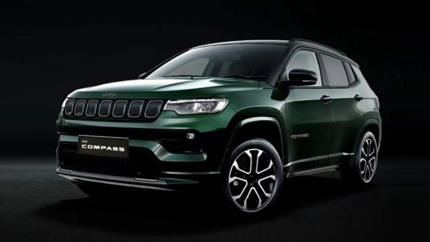 Jeep Compass (facelift) launched in India at Rs. 17 lakh