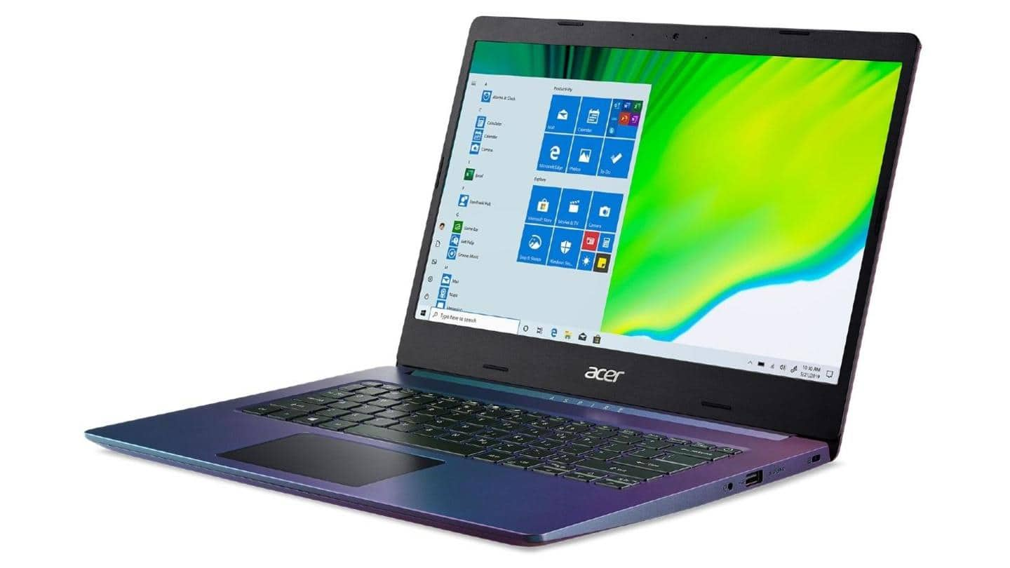Acer Aspire 5 Magic Purple edition launched at Rs. 38,000