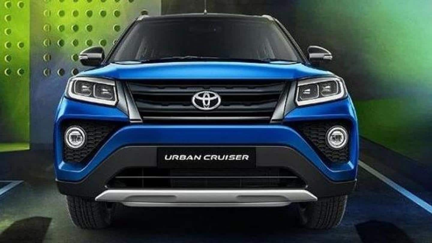 Ahead Of Launch Toyota Urban Cruiser Suv S Interior Details Revealed Newsbytes