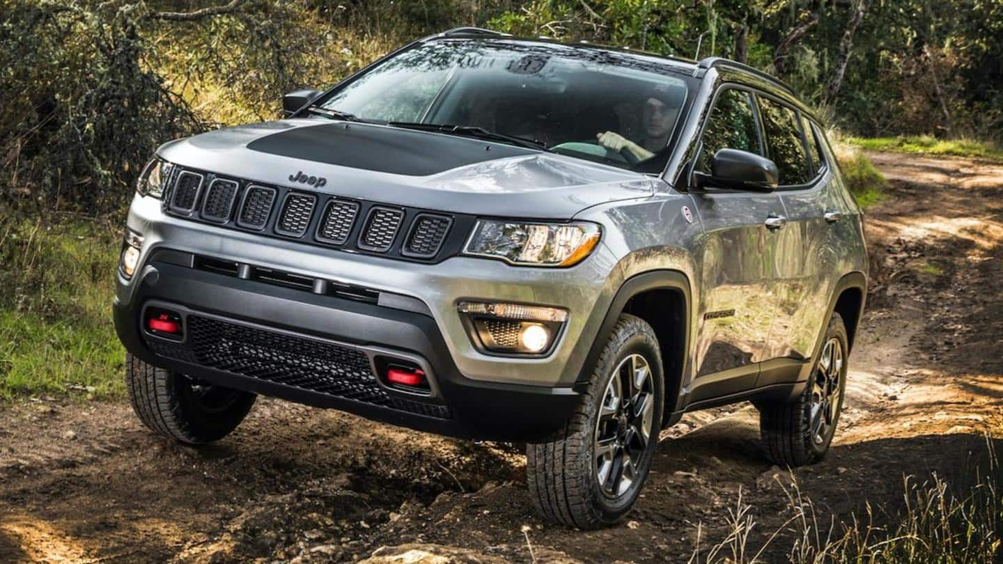 2021 Jeep Compass TrailHawk spied testing, key design details confirmed