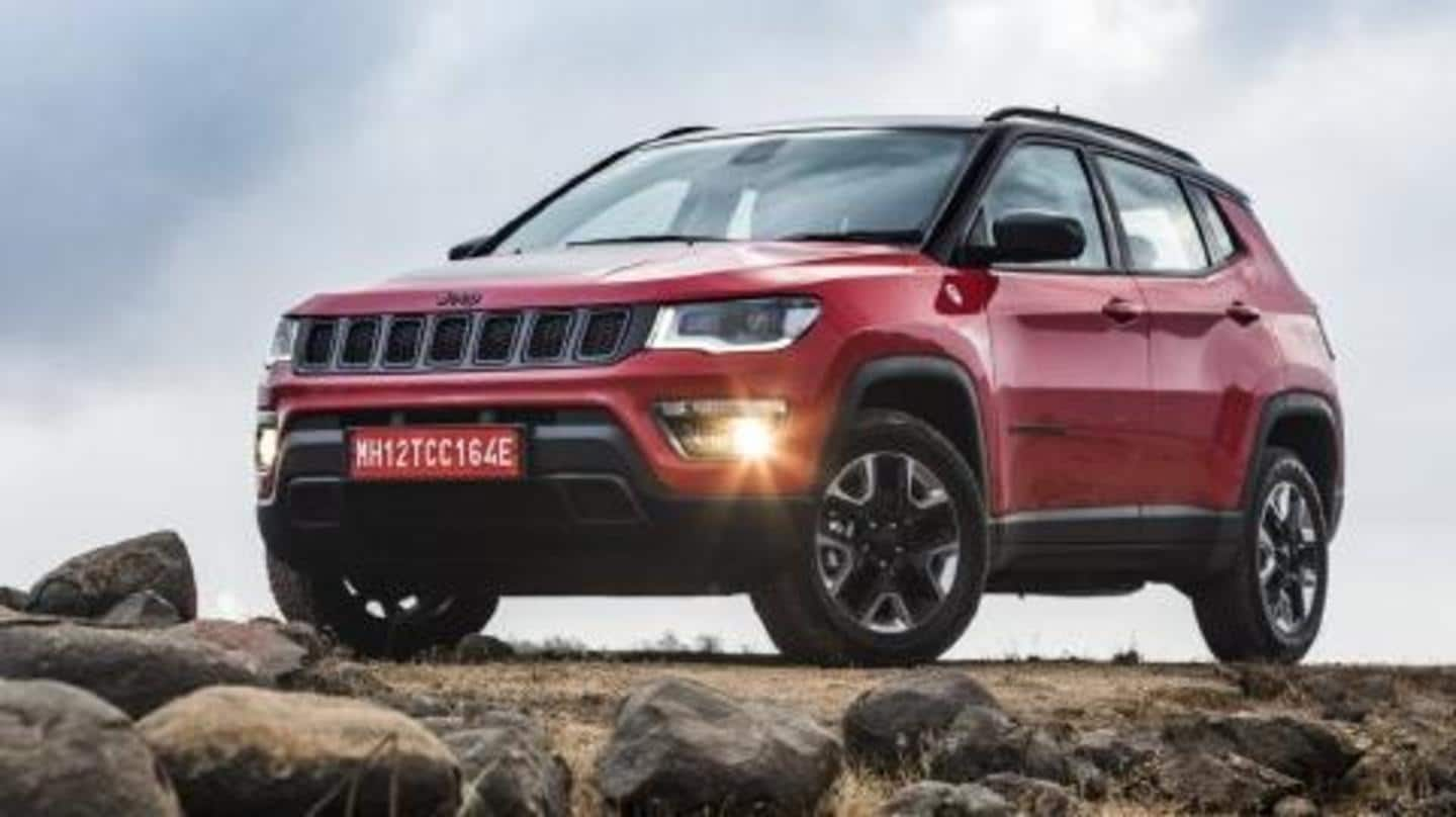 Festive benefits available on 2020 Jeep Compass SUV this November
