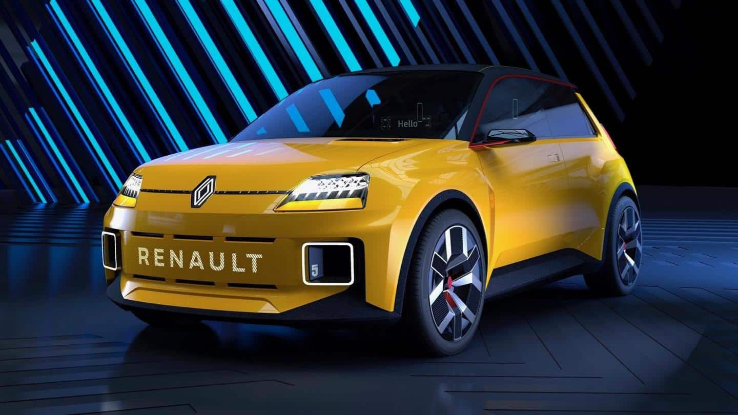 Outlining new business strategy, Renault reveals 5 E-TECH all-electric prototype