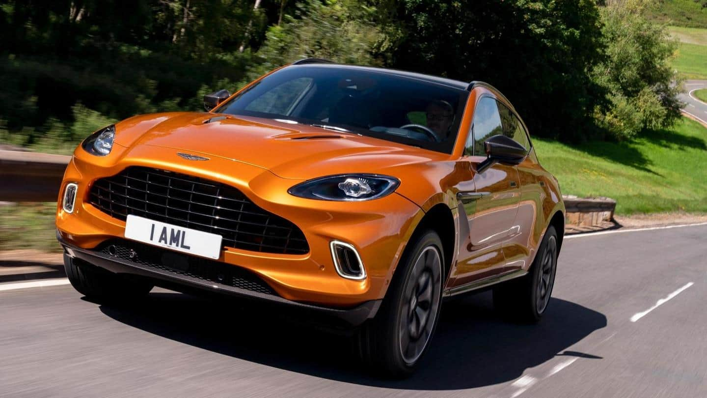 Aston Martin DBX launched in India at Rs. 3.82 crore