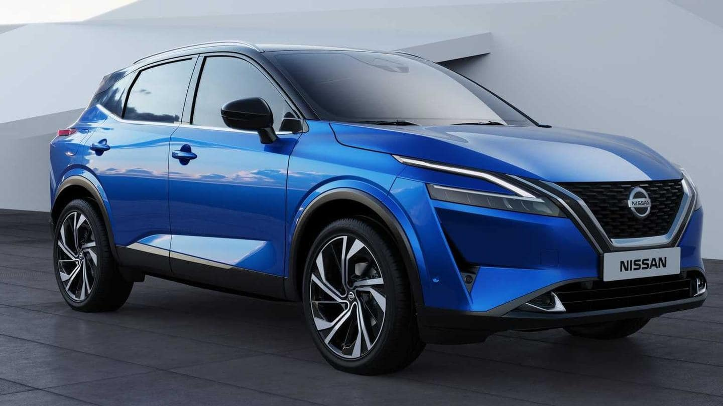 2021 Nissan Qashqai, with sharper design and new features, revealed