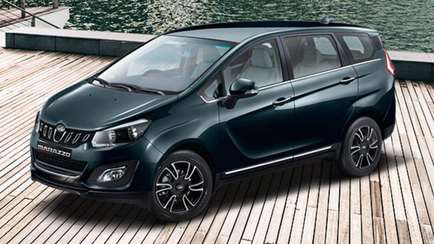 Mahindra to soon launch Marazzo MPV with an AMT gearbox