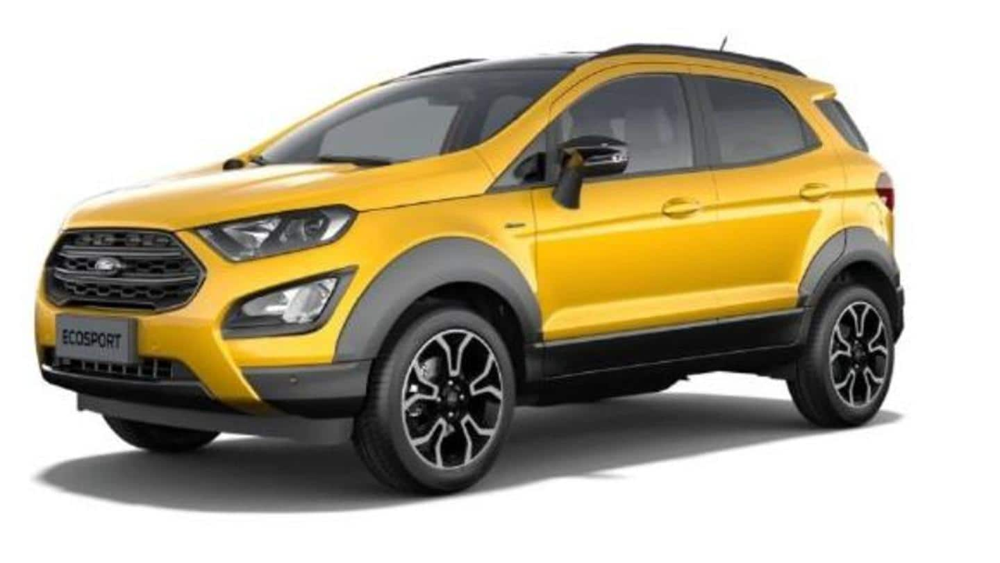 Ford EcoSport Active to break cover next month: Details here