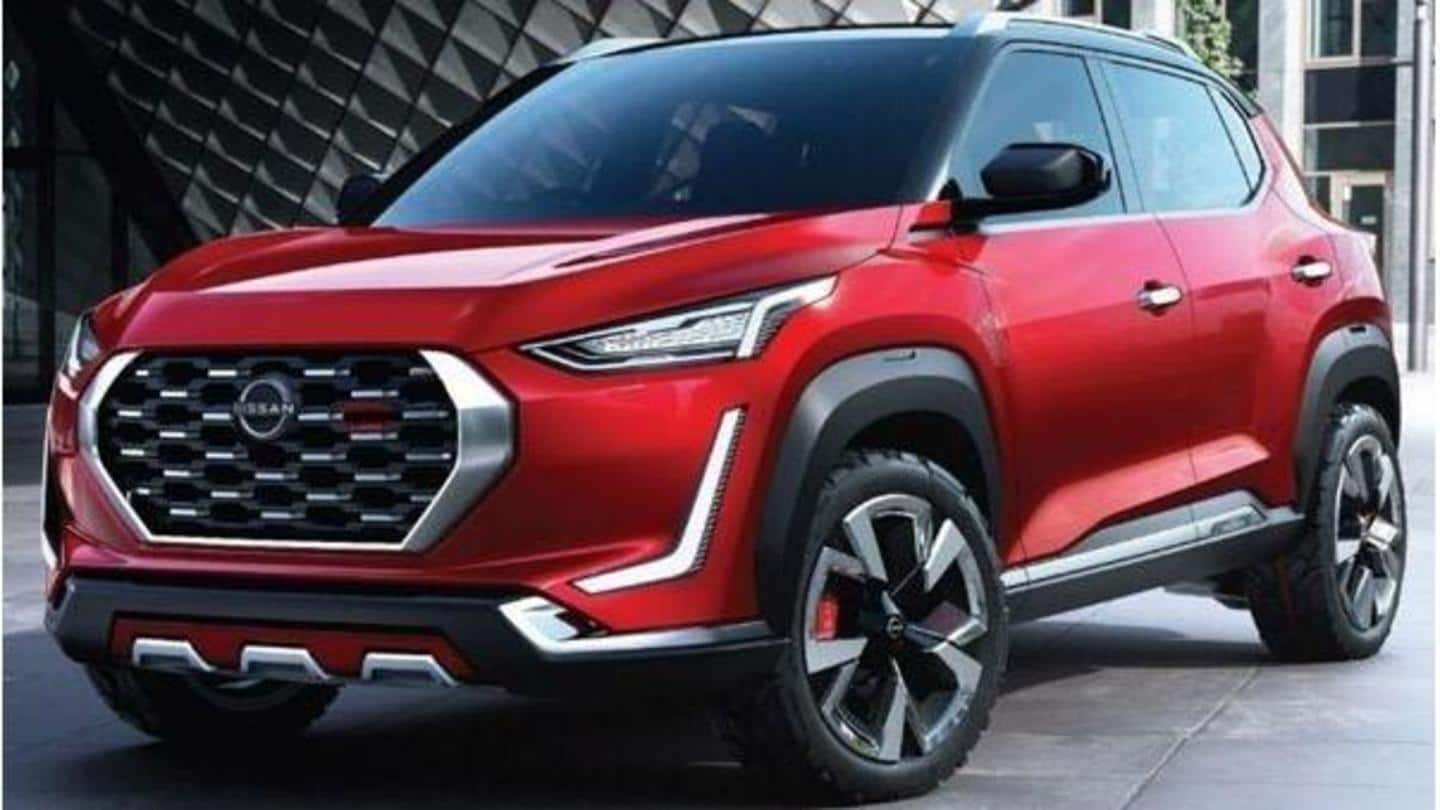 Nissan Magnite sub-compact SUV's interior details and features revealed