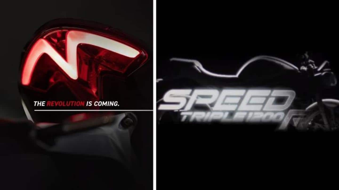 Triumph Speed Triple 1200 RS to debut on January 26