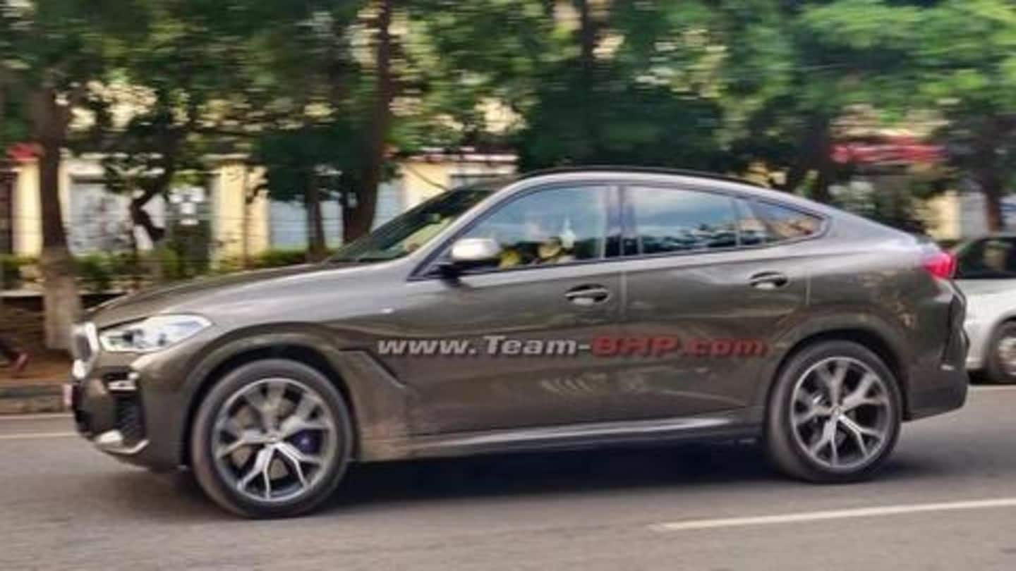 Ahead Of Launch 2020 Bmw X6 Spotted In India