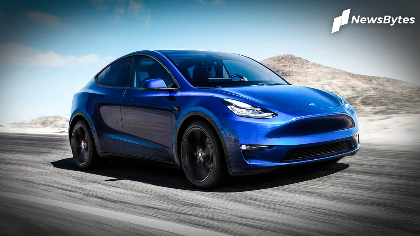 World's first Tesla Model Y commissioned as a police car