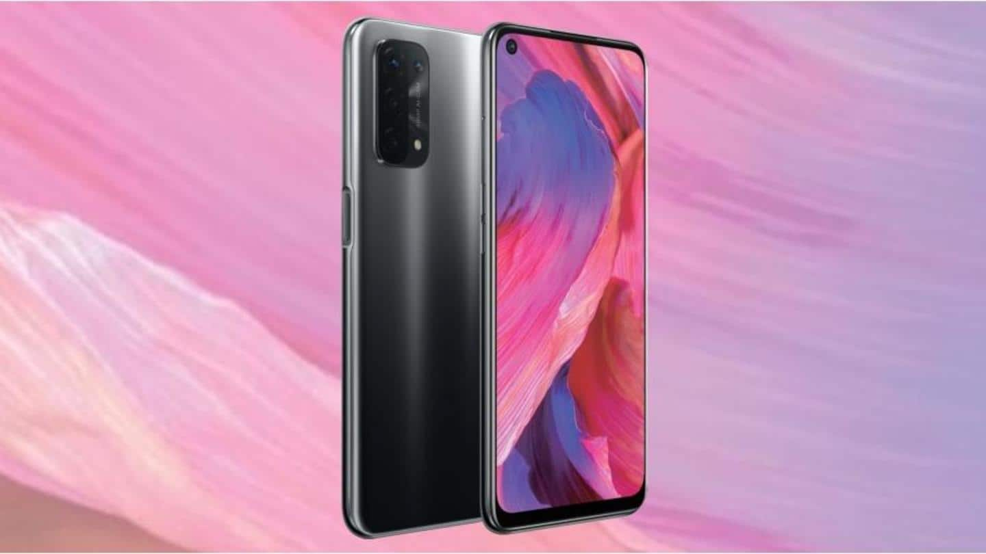Prior to debut on April 13, OPPO A74's specifications revealed