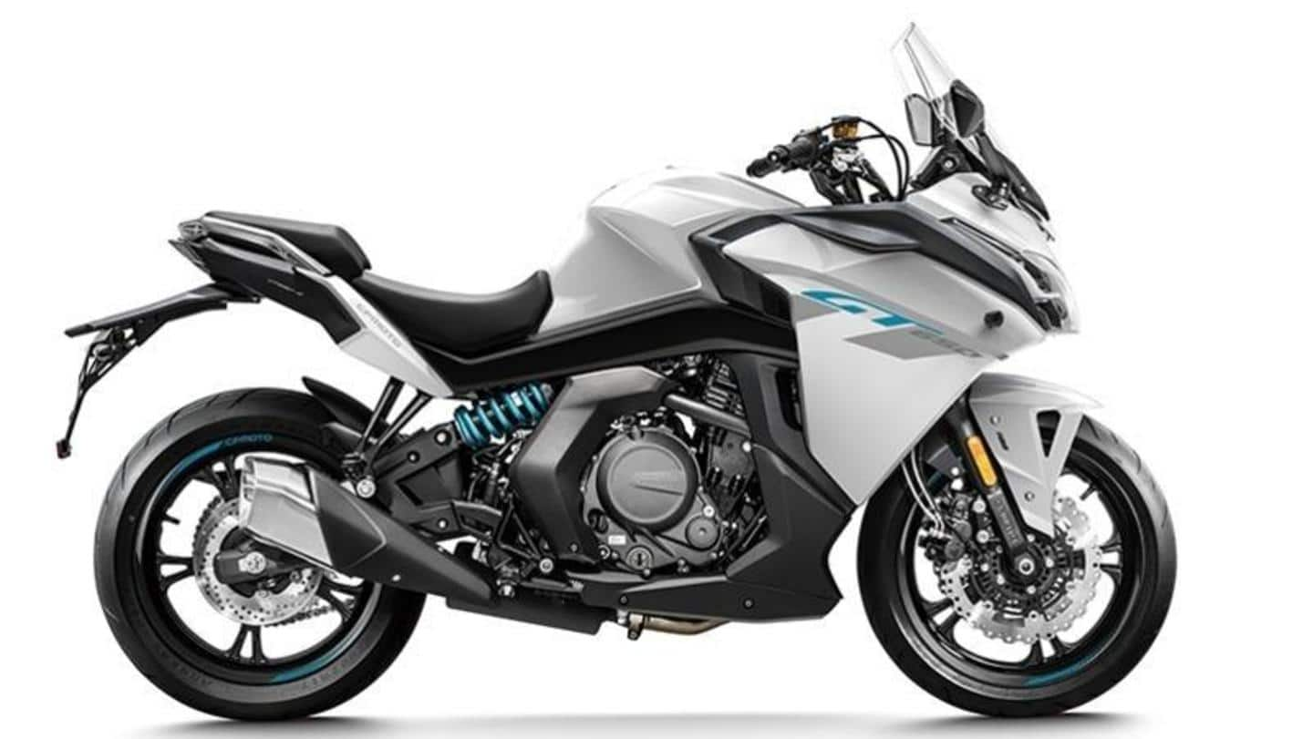 Prior to launch in India, BS6-compliant CFMoto 650GT motorbike teased