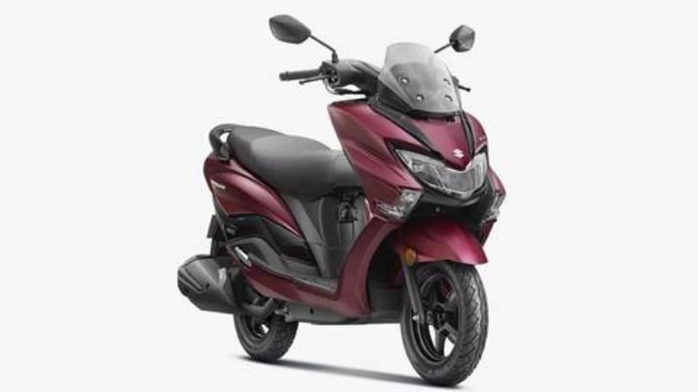 BS6-compliant Suzuki Burgman Street scooter becomes costlier