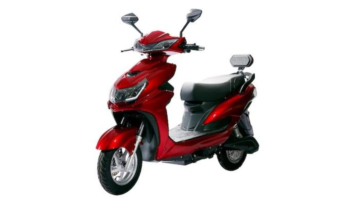 Odysse launches E2Go electric scooter in India at Rs. 55,500