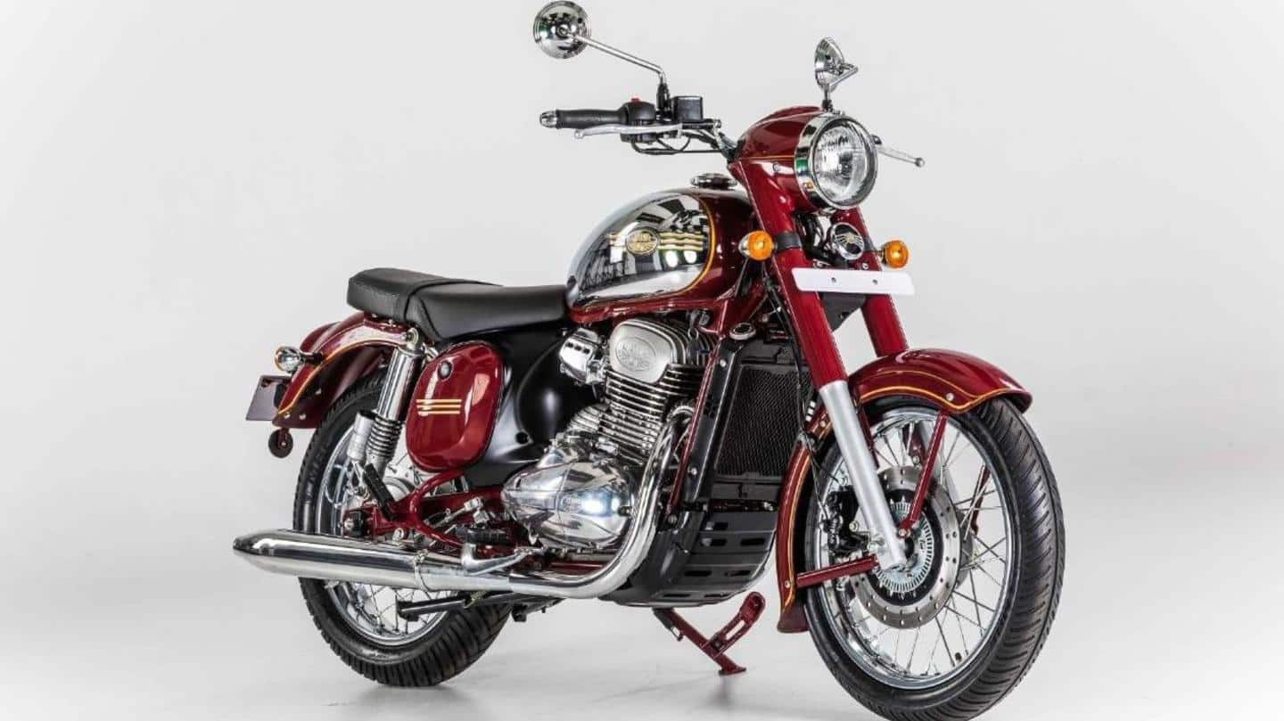 India-manufactured Jawa Standard motorbike launched in Europe