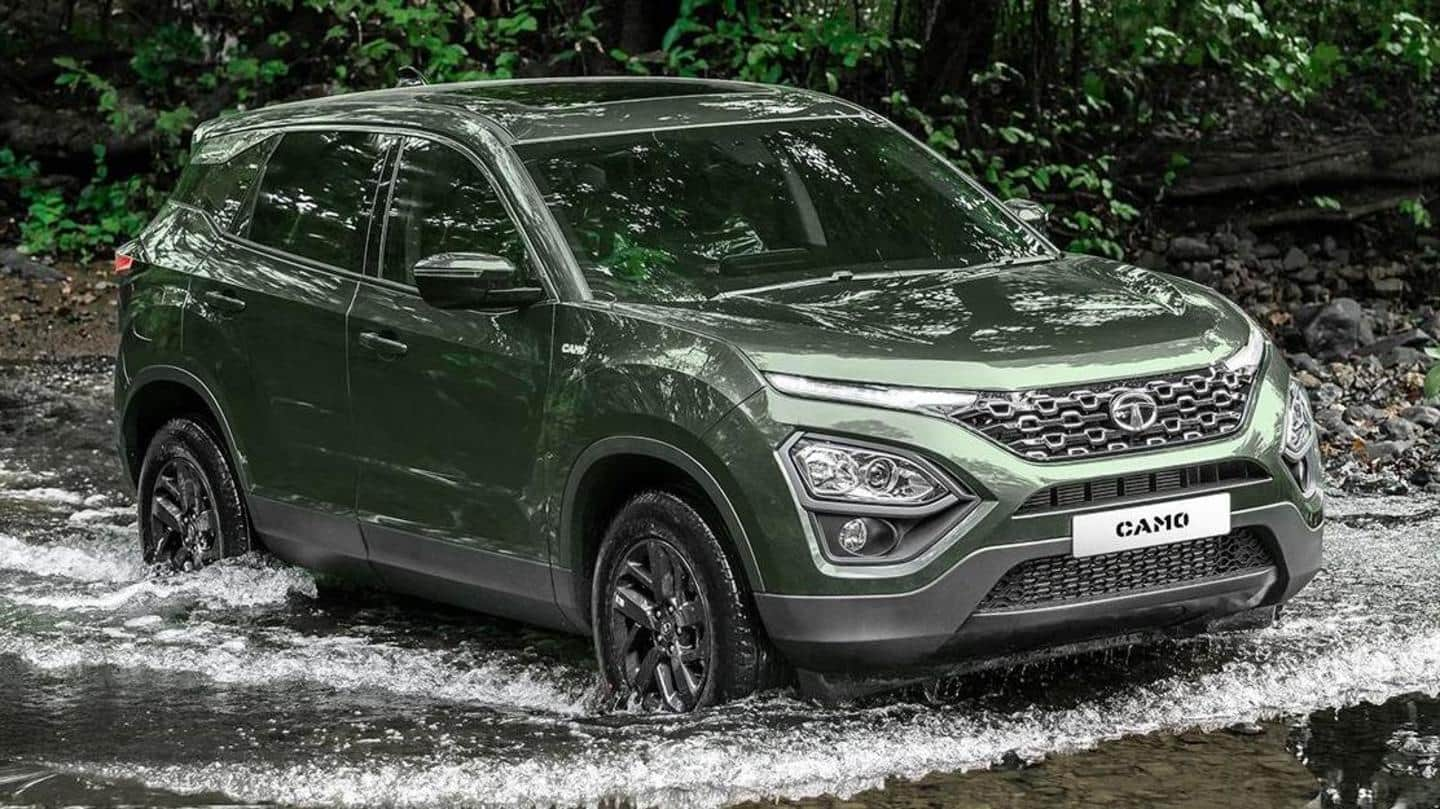 Tata Harrier CAMO Edition SUV launched at Rs. 16.50 lakh