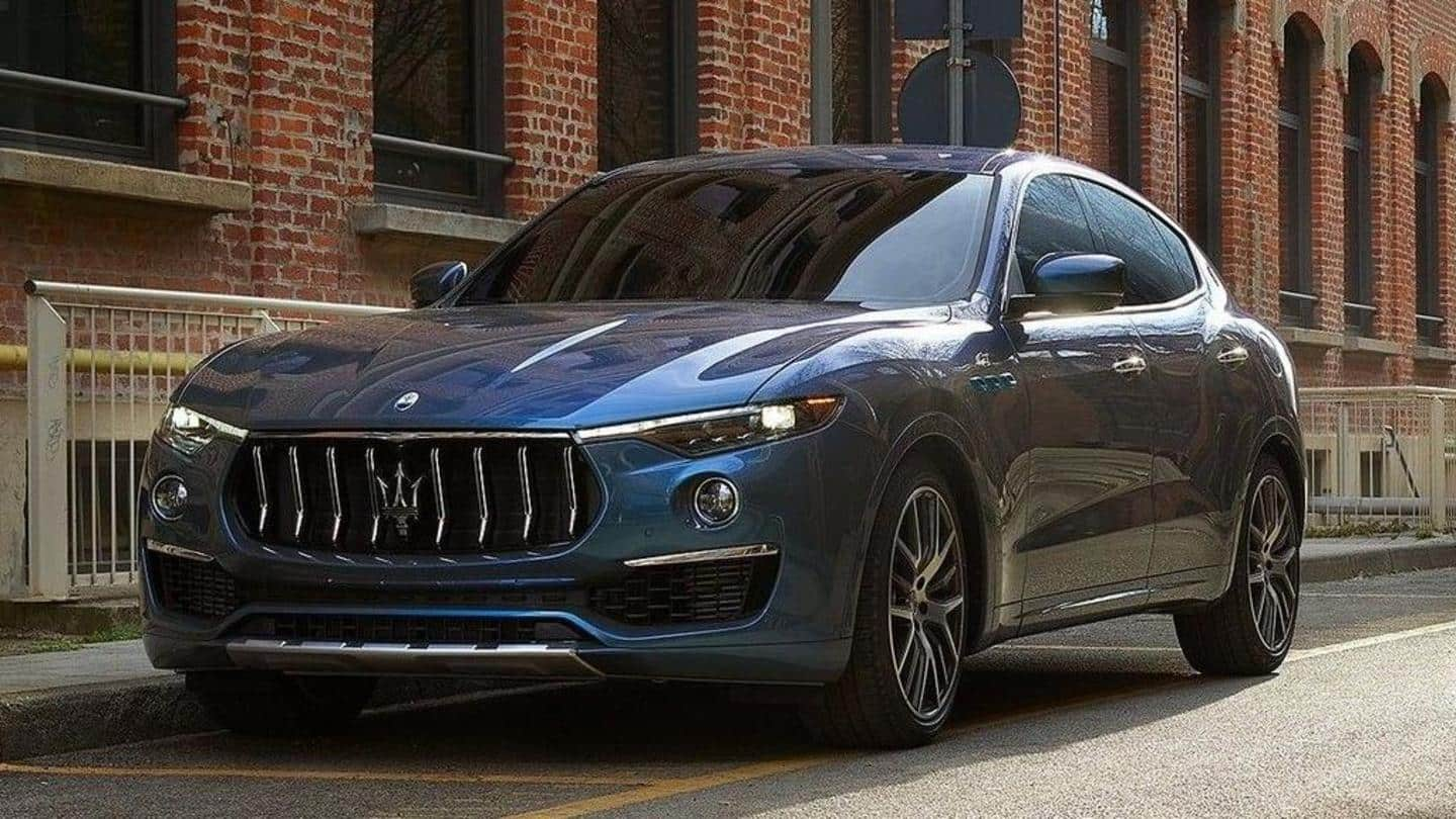 Maserati Levante Hybrid, with a top-speed of 240km/h, breaks cover