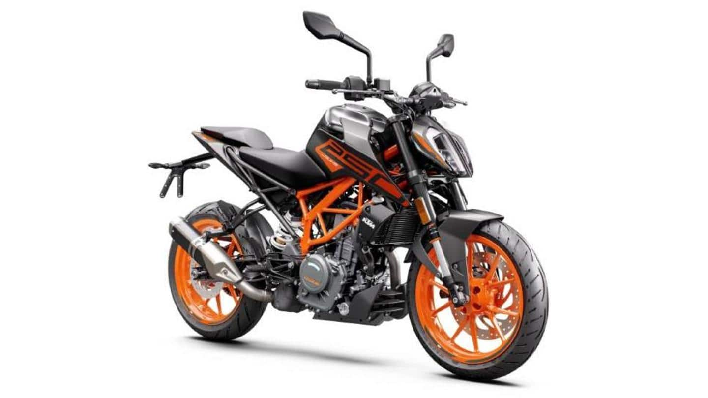 KTM launches updated 250 Duke motorcycle at Rs. 2.09 lakh