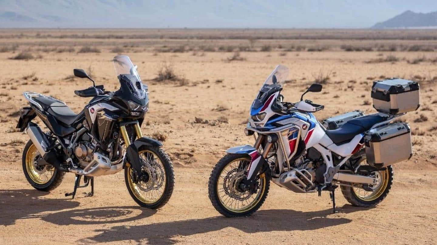 2021 Honda Africa Twin Adventure Sports motorbike launched in India
