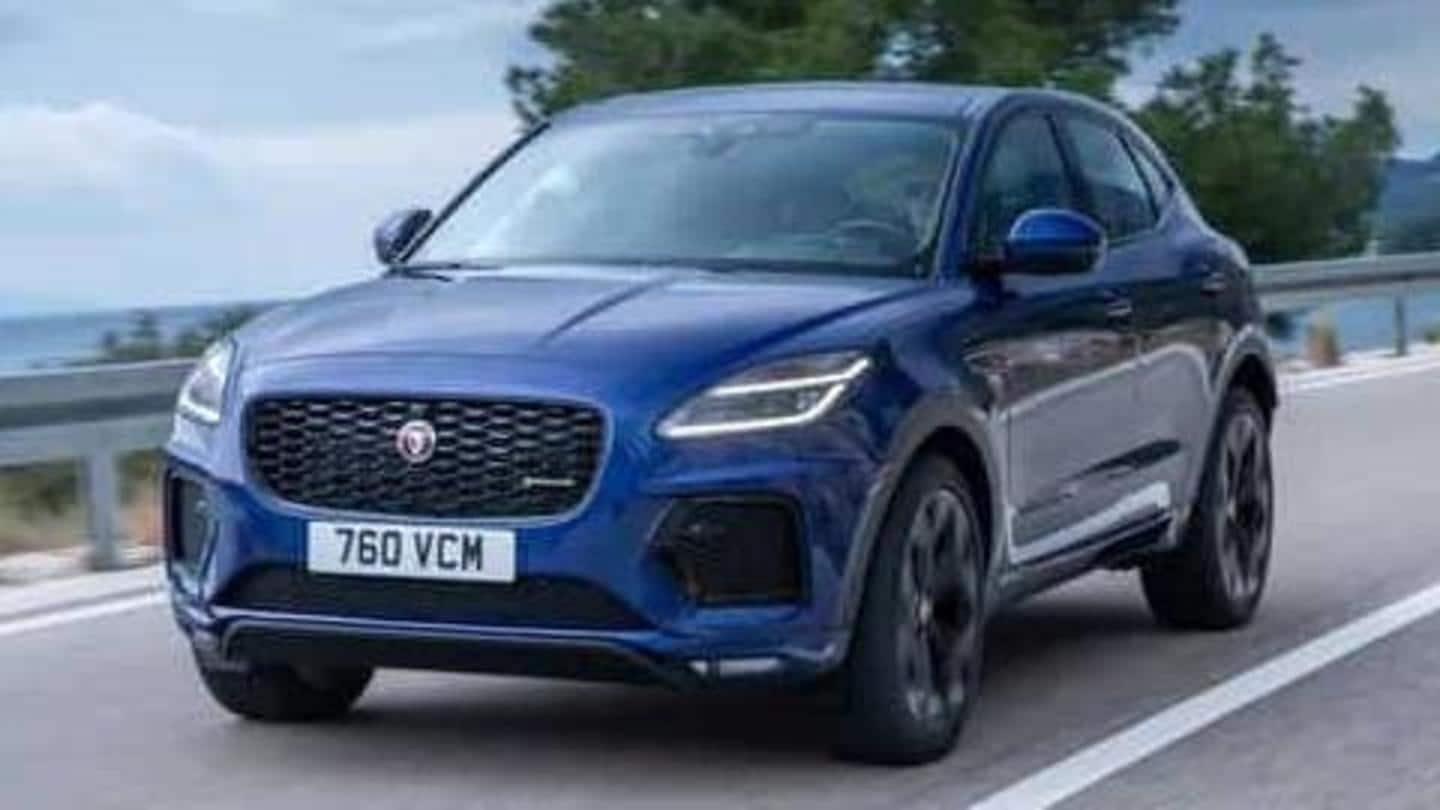 2021 Jaguar E-Pace, with refreshed design and new engines, unveiled