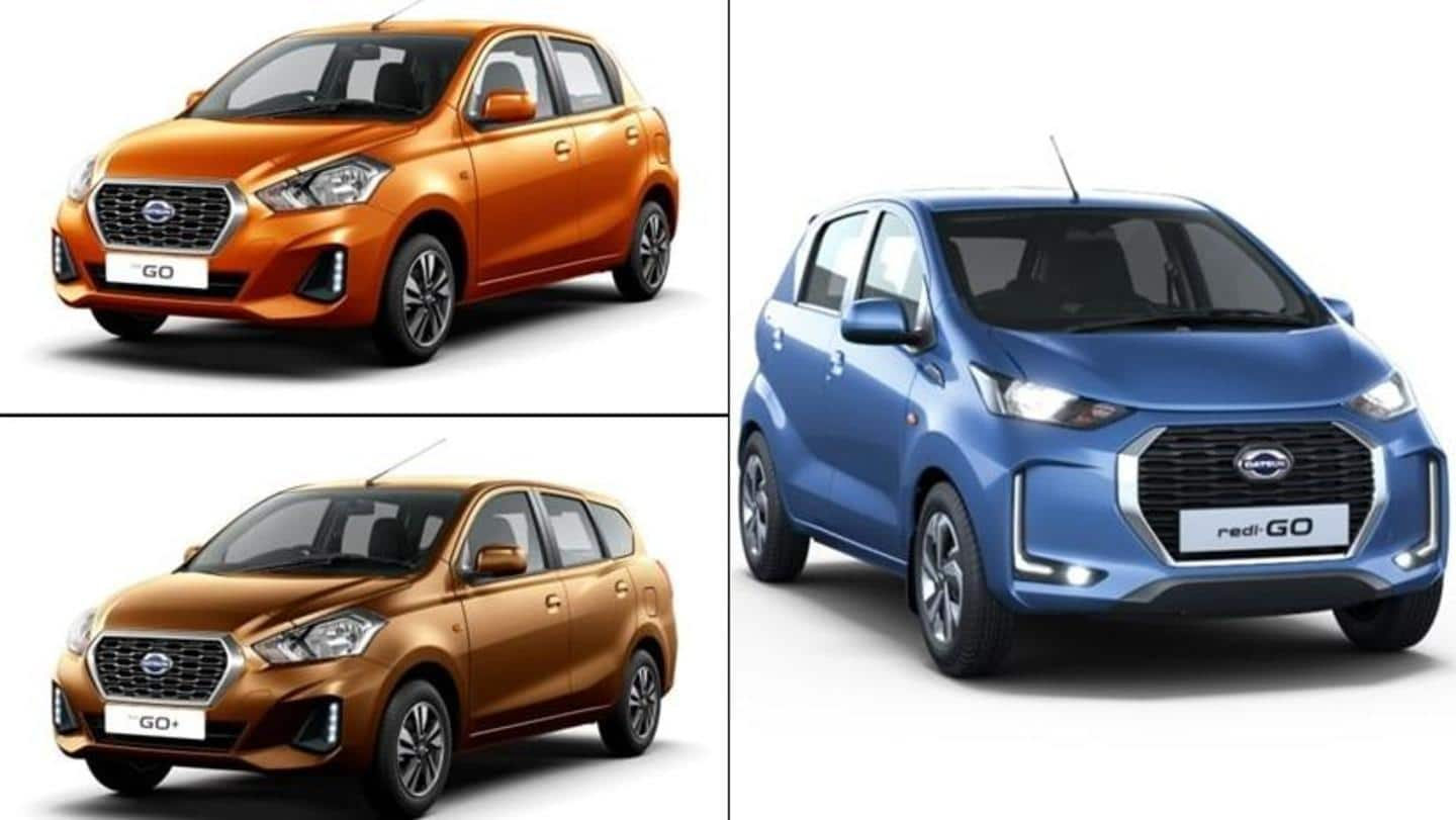 Benefits of up to Rs. 51,000 available on Datsun cars