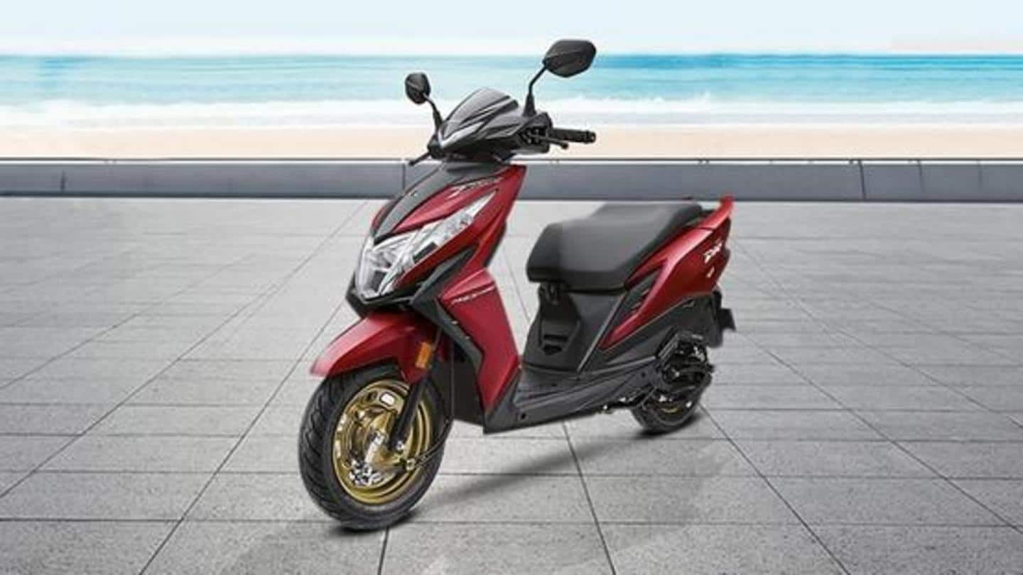 Honda Dio is available with Rs. 3,500 cashback: Details here