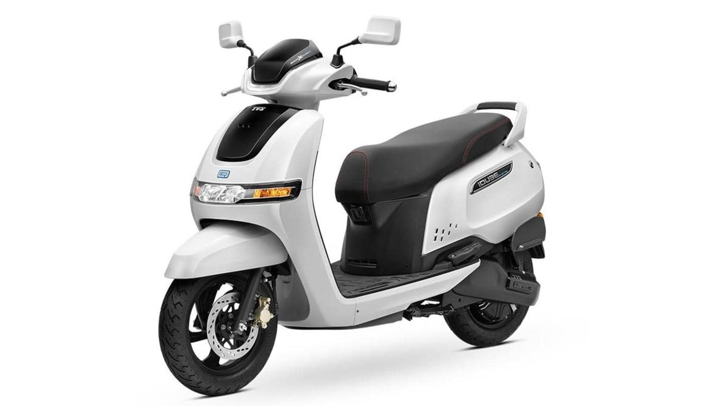 TVS iQube electric scooter now available in Pune