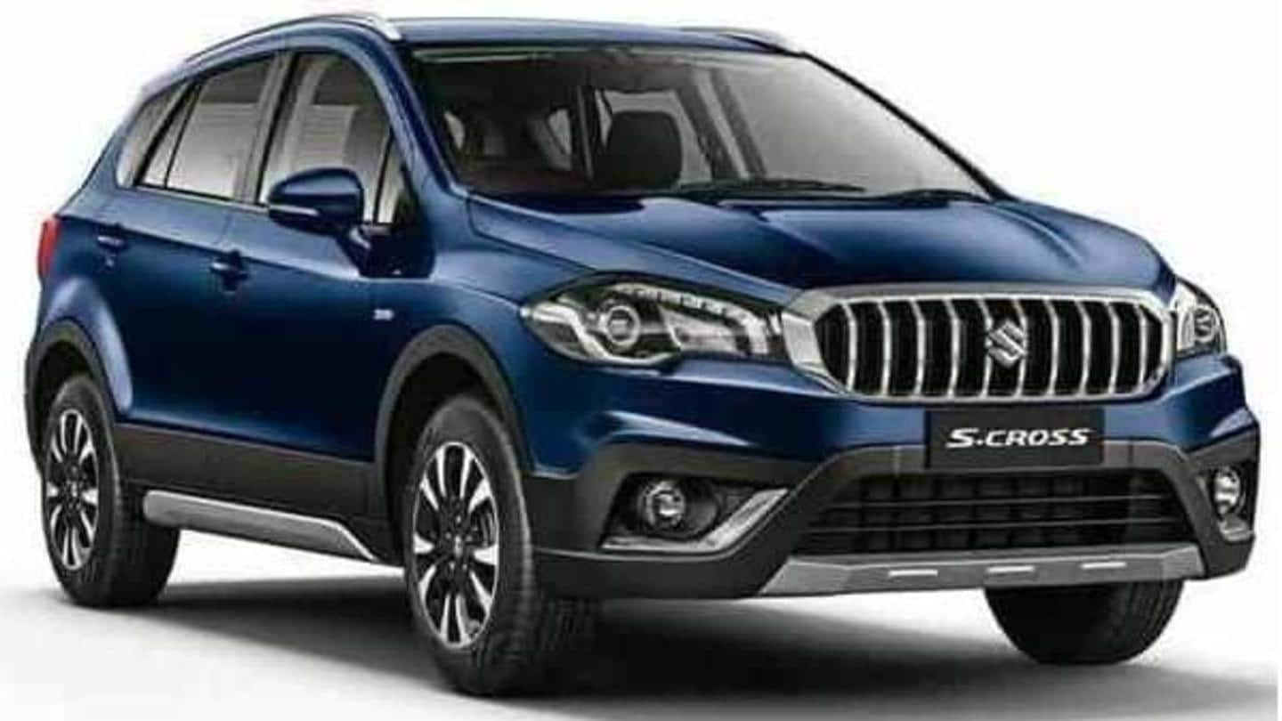 Ahead of launch, Maruti Suzuki S-Cross spotted at dealership yard