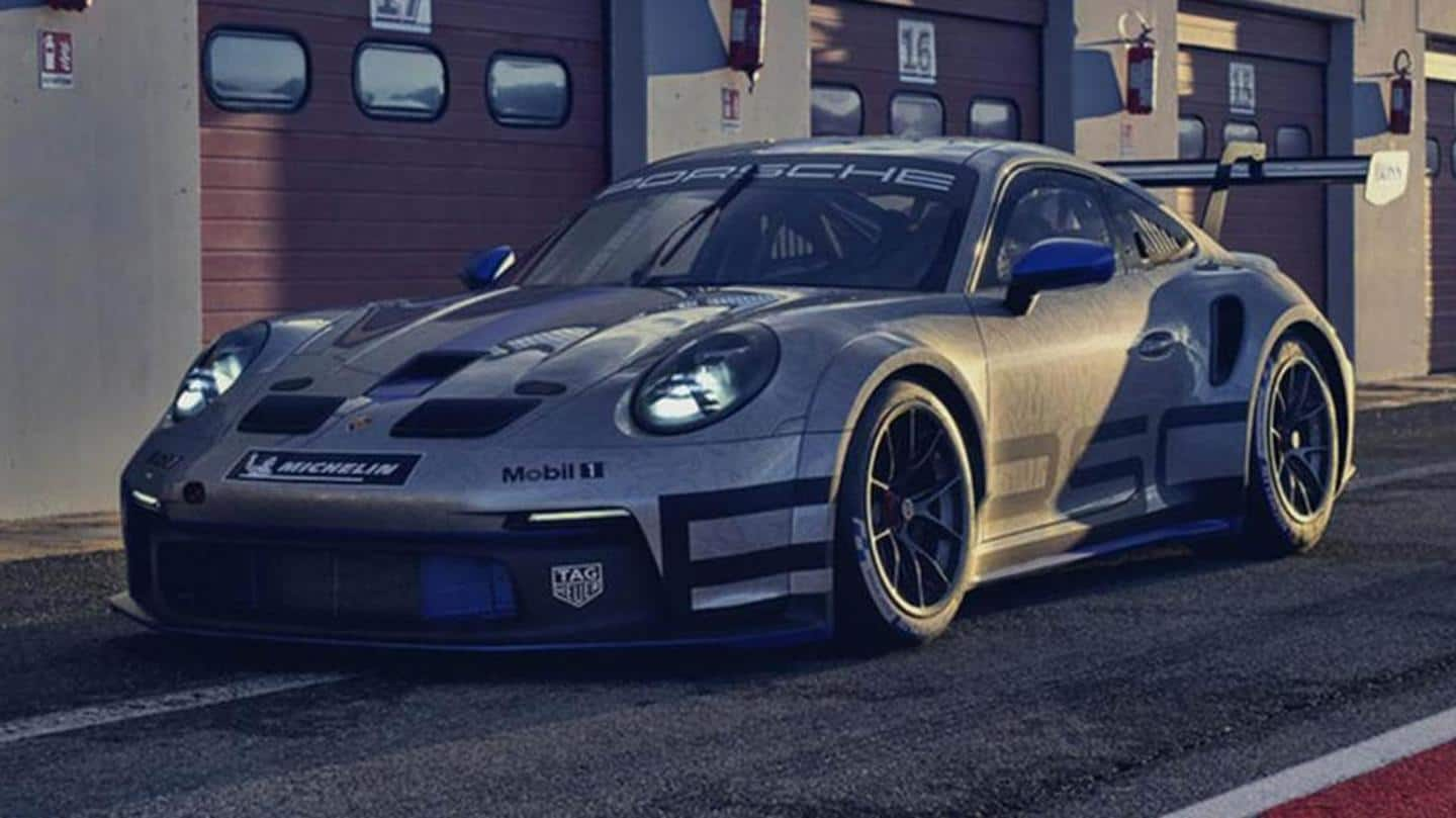 992-generation Porsche 911 GT3 Cup racing car unveiled: Details here