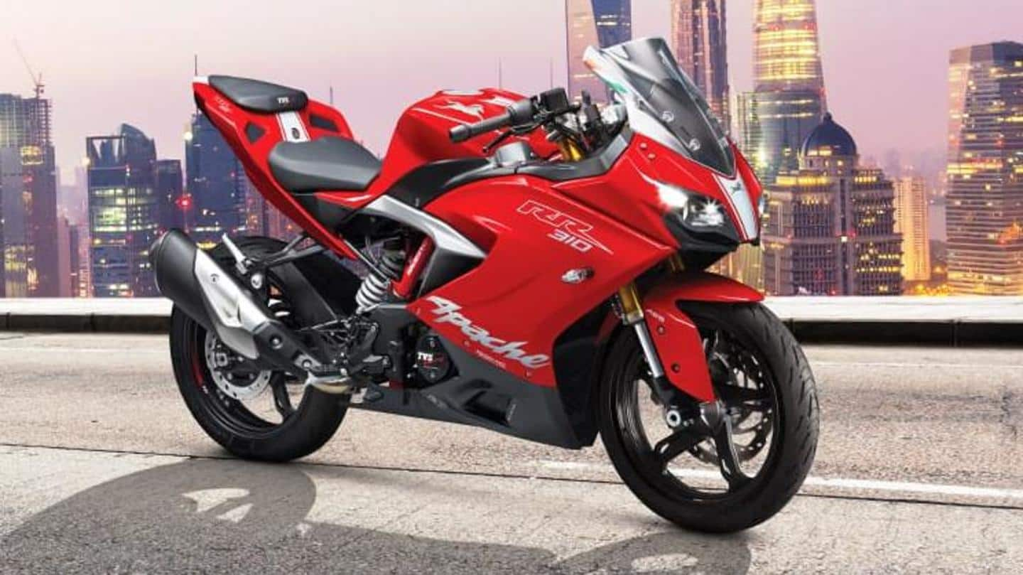 Launch of 2021 TVS Apache RR 310 delayed in India