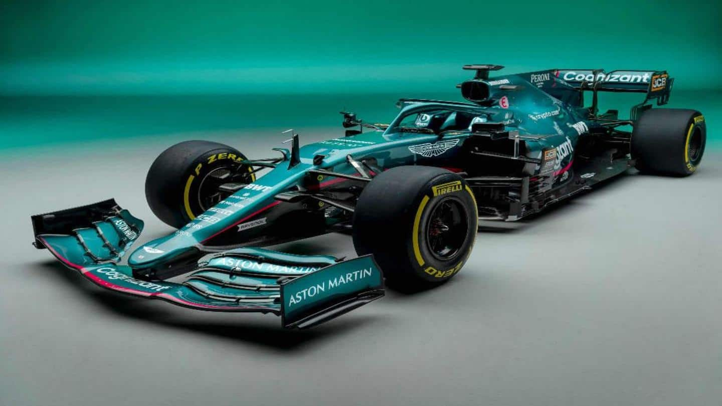 Aston Martin's new car marks F1 re-entry after 61 years