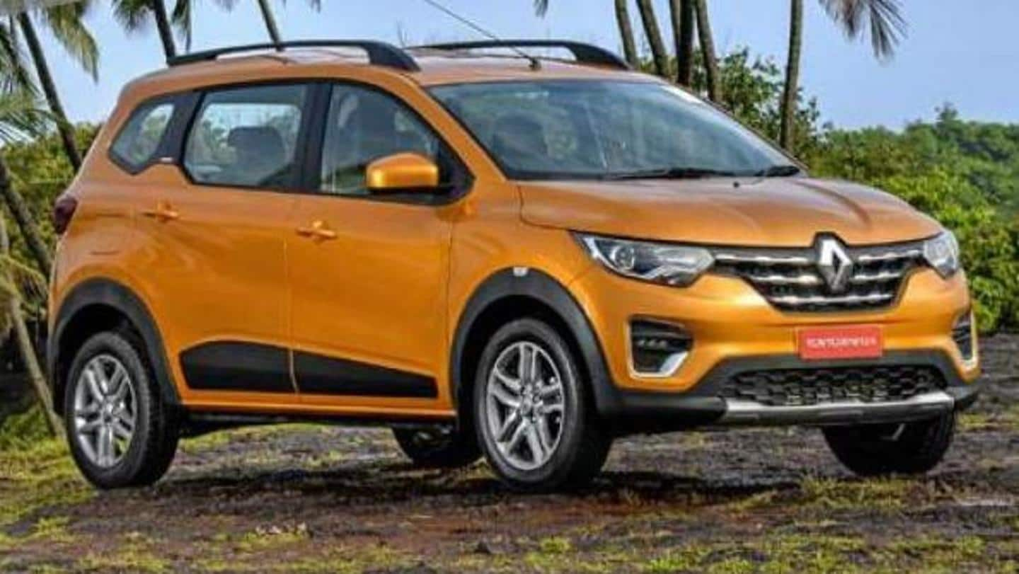 Bs6 Renault Triber With Manual Transmission Delivers 19km Liter Arai Newsbytes