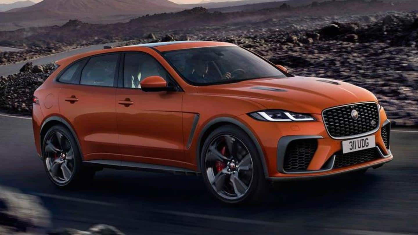 2021 Jaguar F-Pace SVR unveiled: It is faster than ever