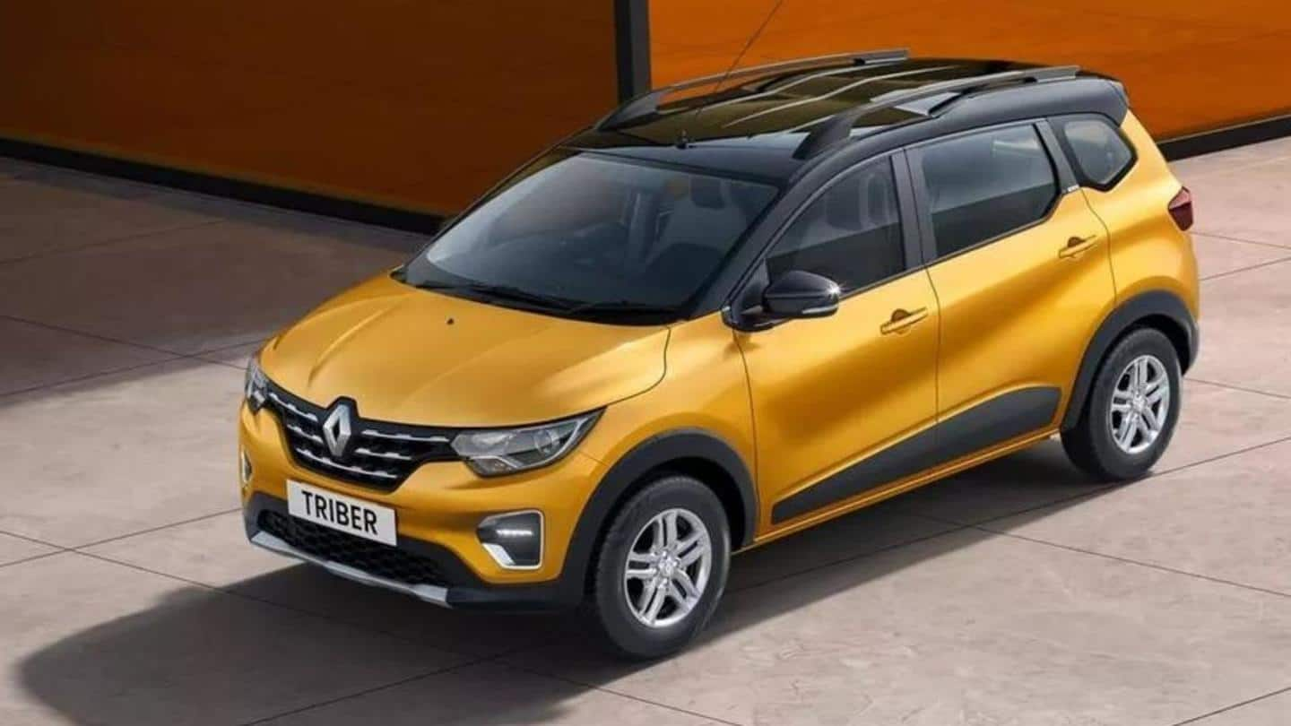 2021 Renault Triber launched at Rs. 5.3 lakh in India