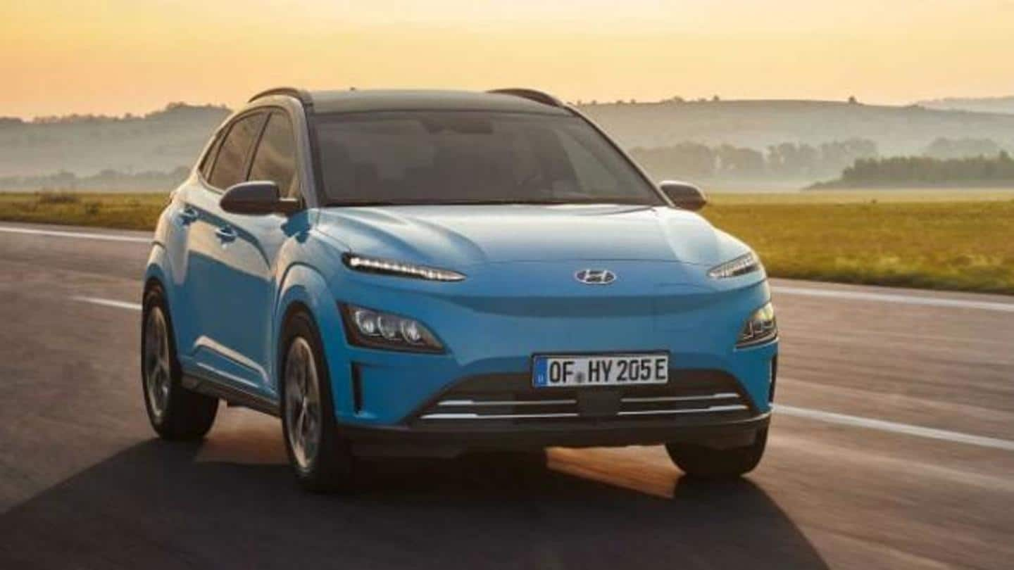 Hyundai unveils facelifted version of Kona Electric SUV: Details here
