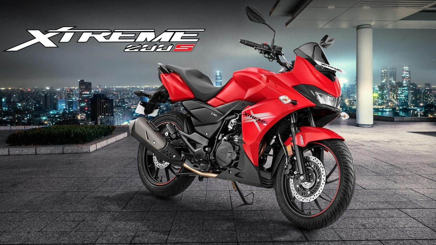Benefits worth Rs. 4,000 on BS6 Hero Xtreme 200S motorcycle