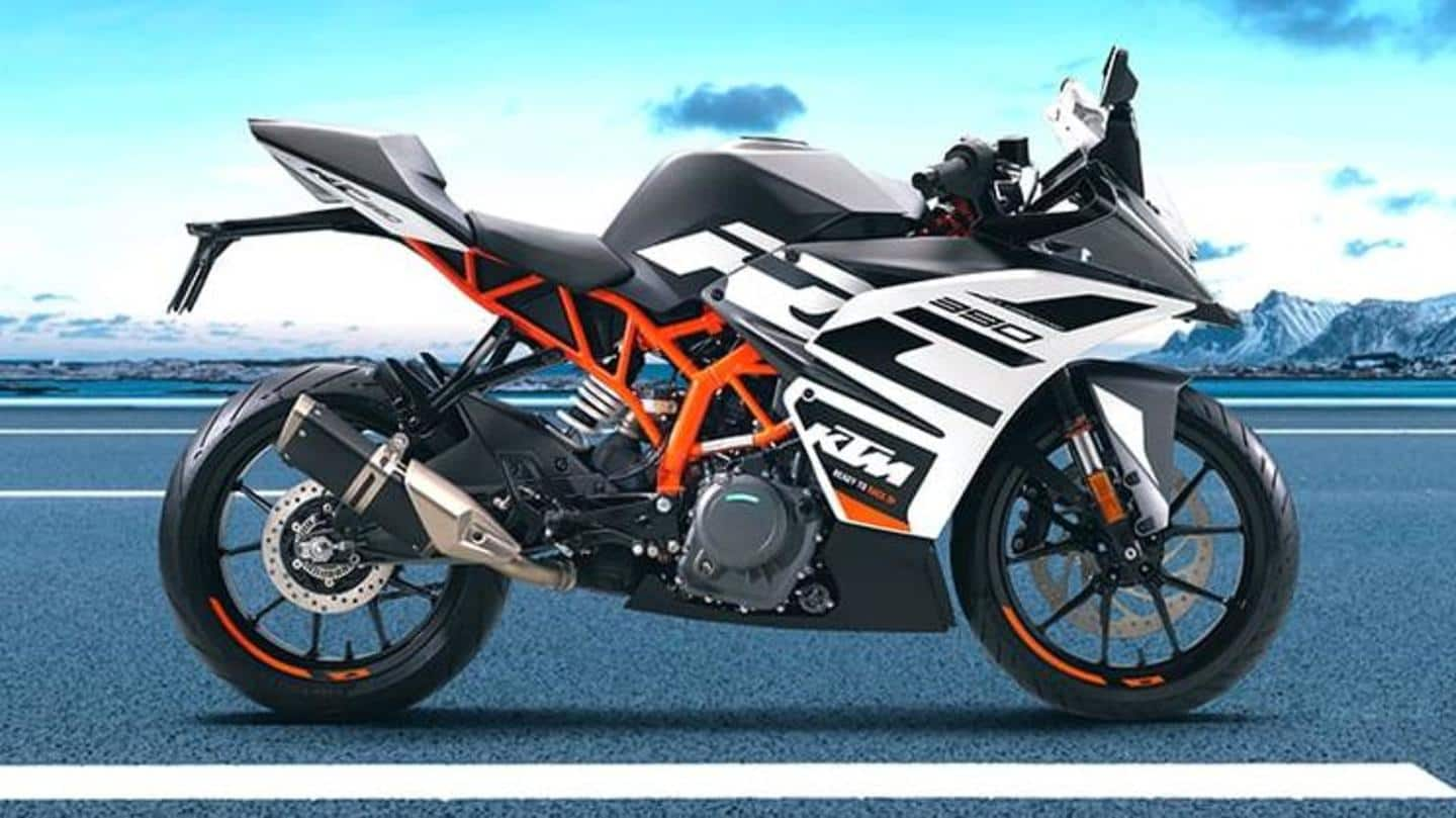 KTM RC 125, 200, 390 receive a price-hike: Details here