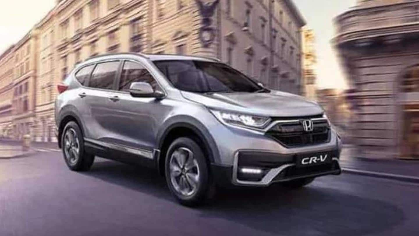 Honda CR-V Special Edition SUV launched at Rs. 29.5 lakh