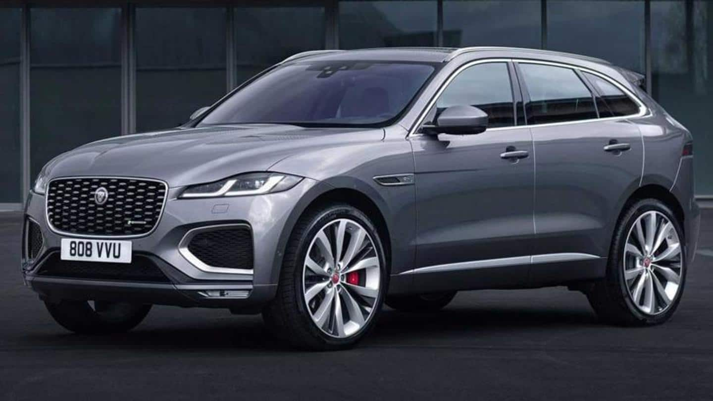 2021 Jaguar F-PACE's bookings open; deliveries to start from May