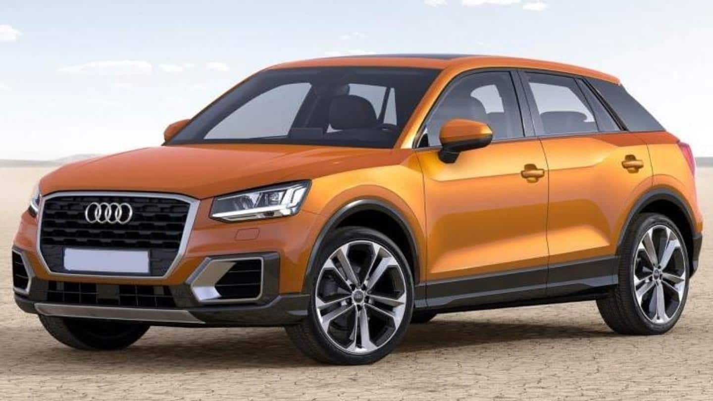 Audi's smallest SUV to be launched in India in September