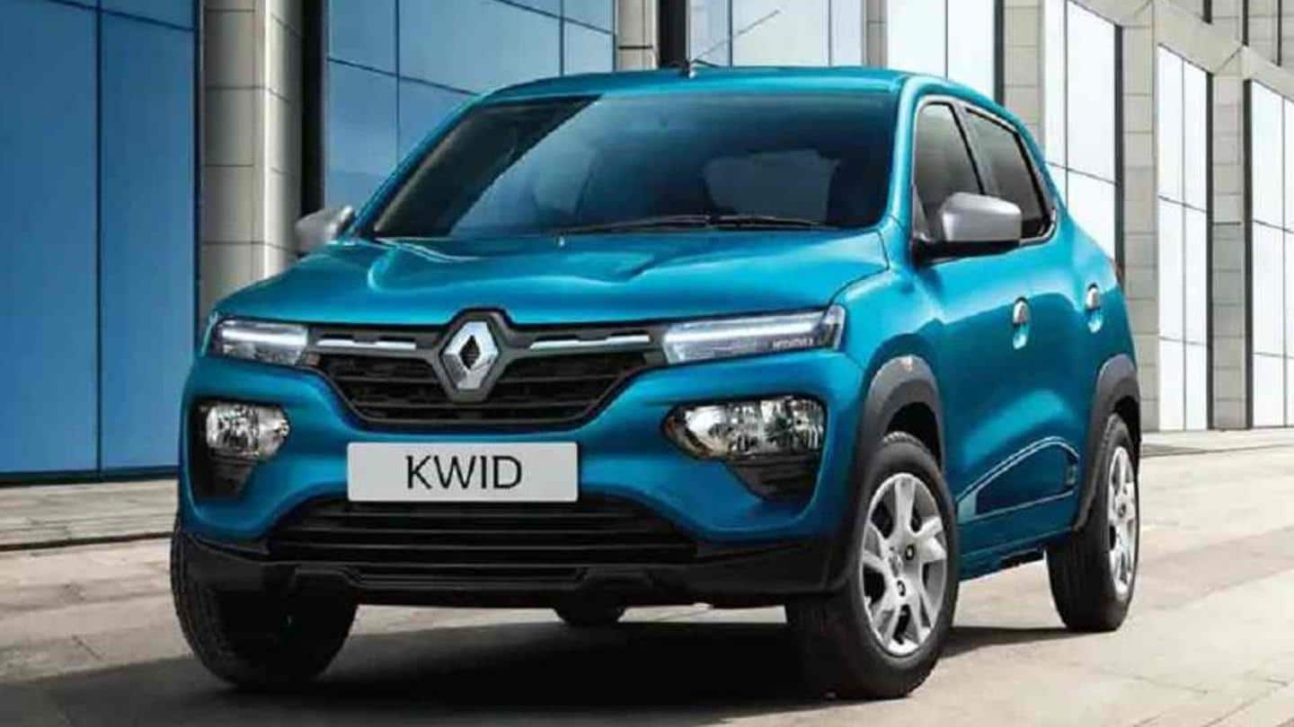 Renault KWID RXL 1.0 launched at Rs. 4.16 lakh