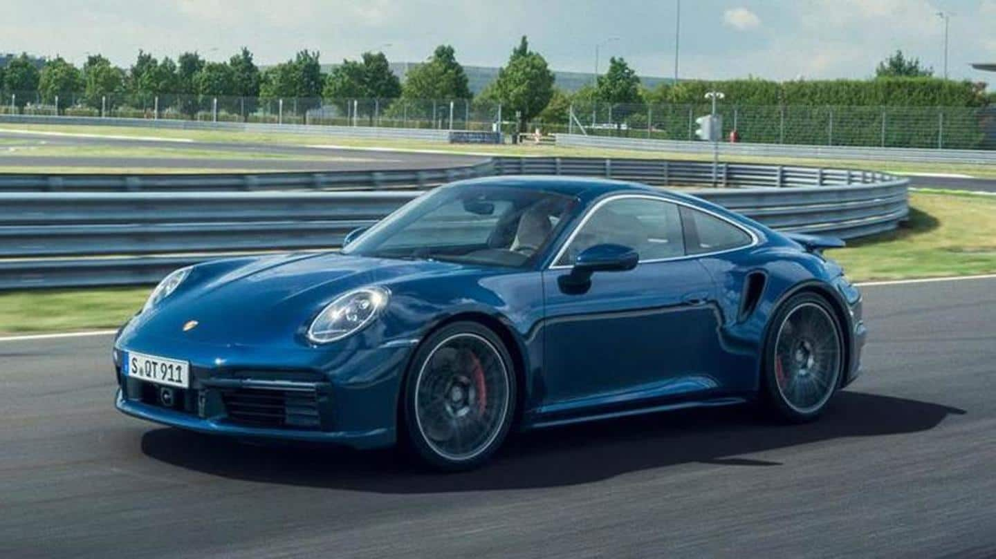 Porsche S All New 911 Turbo Can Do 0 100km H In 2 8 Seconds