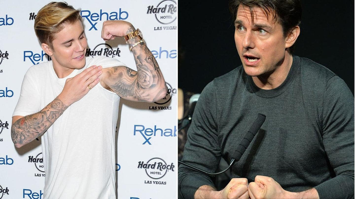 Justin Bieber challenges Tom Cruise, uploads Rocky-inspired MMA ring image