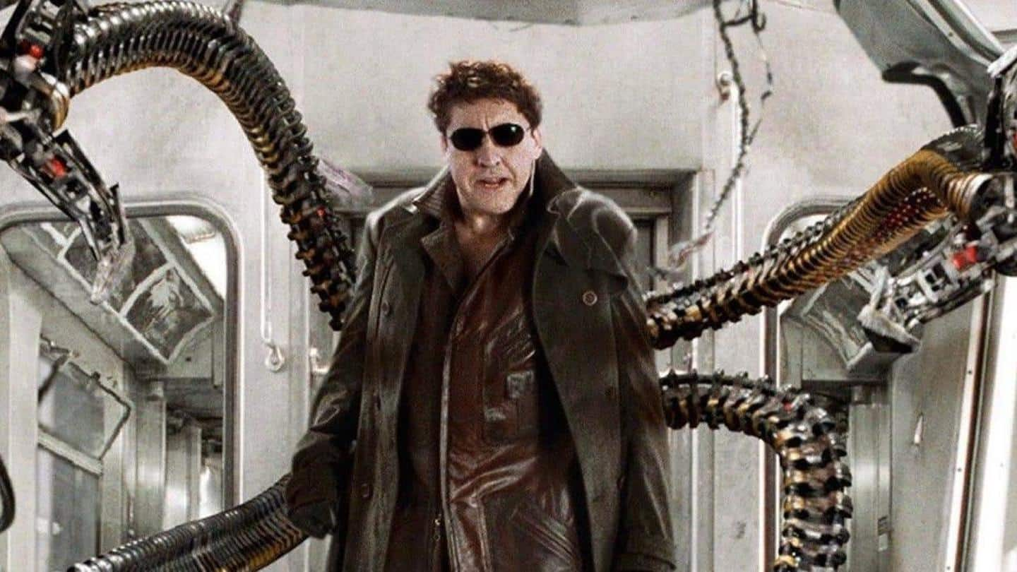 Doctor Octopus actor Alfred Molina seen on 'Spider-Man 3' set?