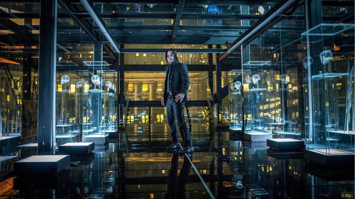 John Wick gets a roller-coaster park ride, via The Continental