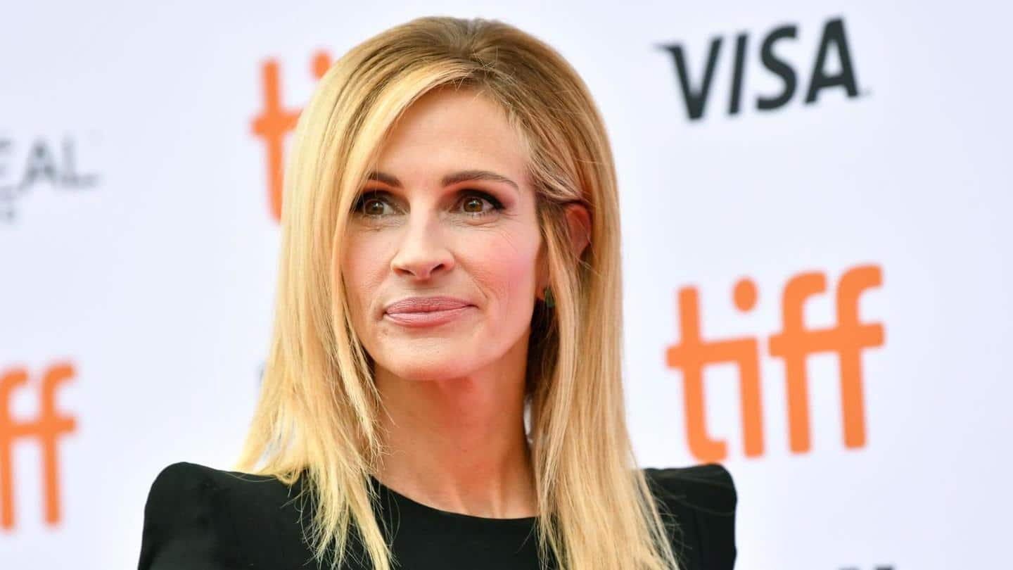 Julia Roberts working on another show, this time with Apple