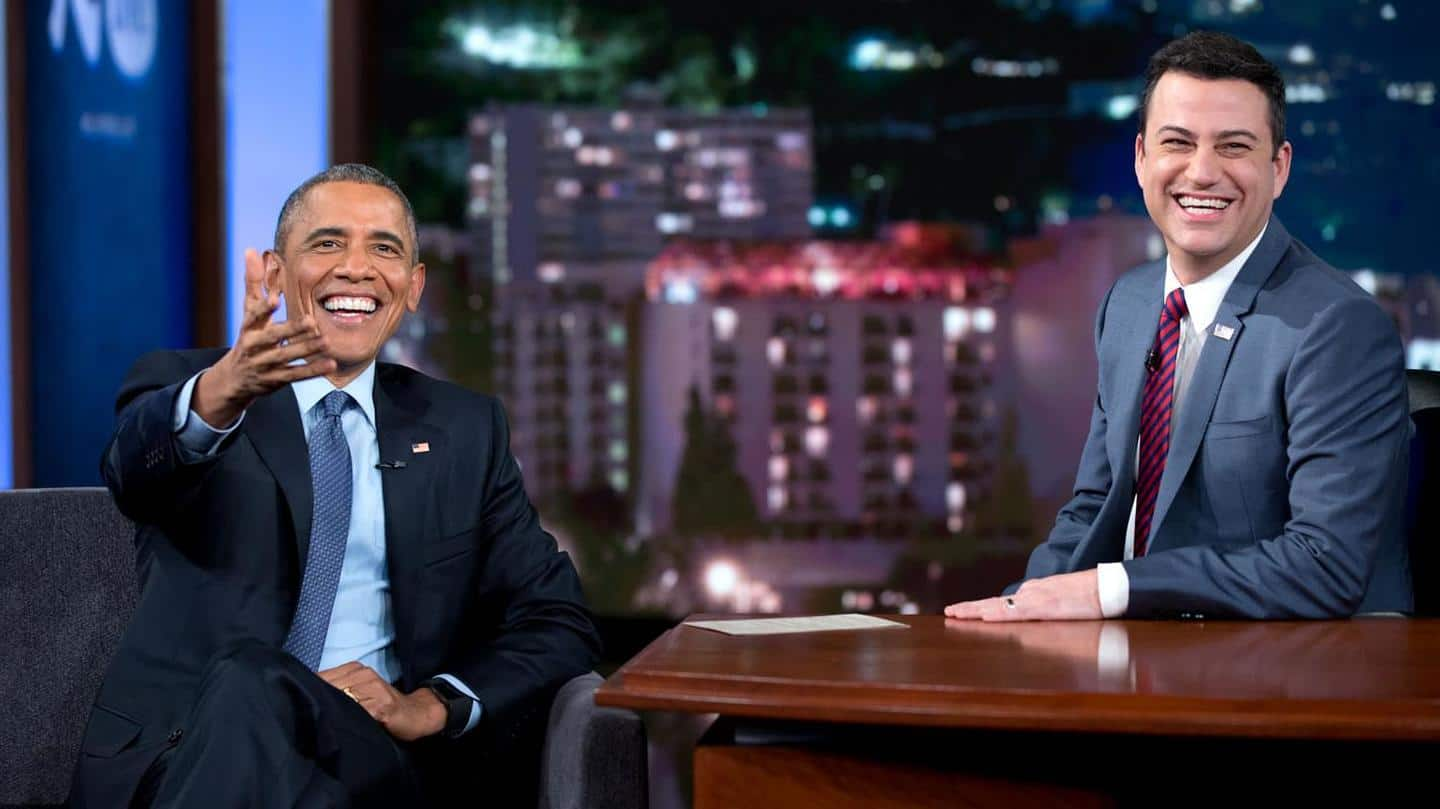 Former President Barack Obama to appear on 'Jimmy Kimmel Live!'