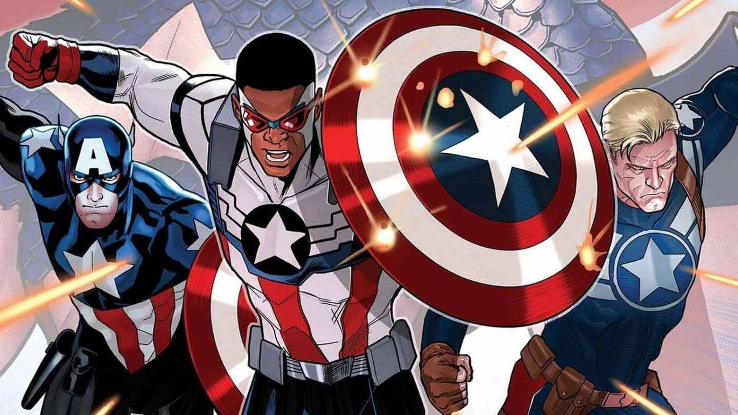 #ComicBytes: Five characters who replaced Steve Rogers as Captain America